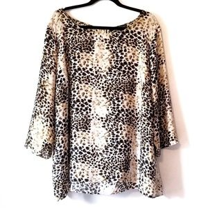 Rose & Olive animal print blouse